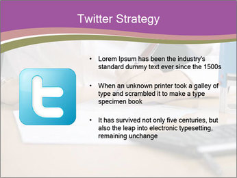 Businesswoman signing document PowerPoint Template - Slide 9