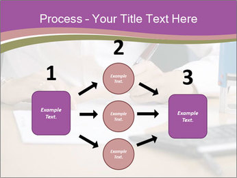 Businesswoman signing document PowerPoint Template - Slide 92