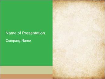 Old vintage paper PowerPoint Template - Slide 1