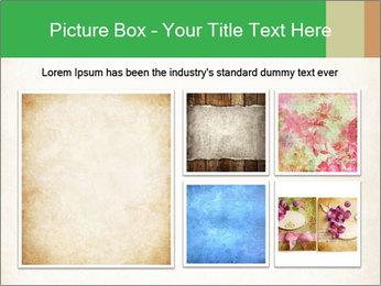 Old vintage paper PowerPoint Template - Slide 19