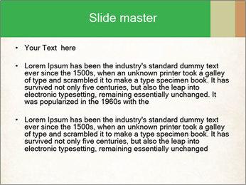 Old vintage paper PowerPoint Template - Slide 2