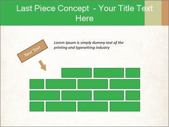 Old vintage paper PowerPoint Template - Slide 46