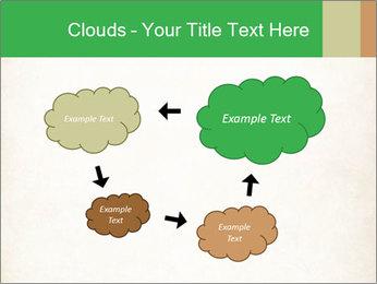 Old vintage paper PowerPoint Template - Slide 72