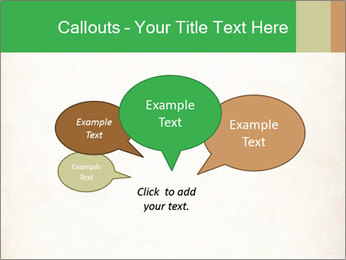Old vintage paper PowerPoint Template - Slide 73