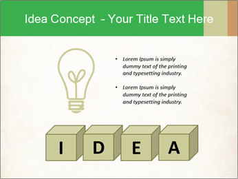 Old vintage paper PowerPoint Template - Slide 80