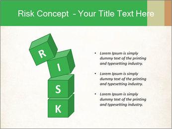 Old vintage paper PowerPoint Template - Slide 81