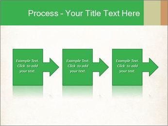 Old vintage paper PowerPoint Template - Slide 88
