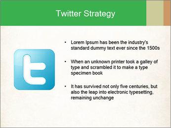 Old vintage paper PowerPoint Template - Slide 9