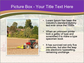 Tractor planting PowerPoint Templates - Slide 13