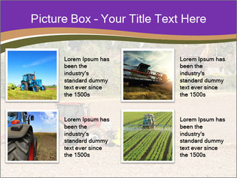 Tractor planting PowerPoint Templates - Slide 14