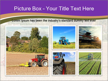Tractor planting PowerPoint Templates - Slide 19