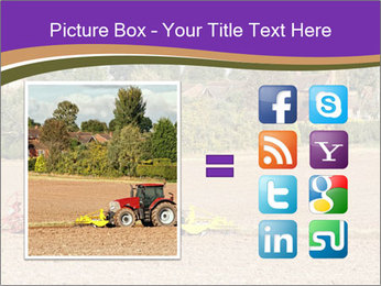 Tractor planting PowerPoint Templates - Slide 21