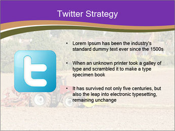 Tractor planting PowerPoint Templates - Slide 9