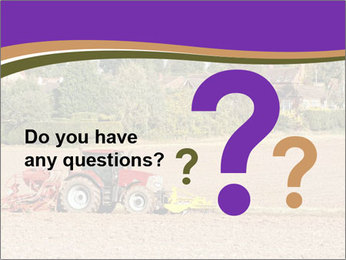 Tractor planting PowerPoint Templates - Slide 96