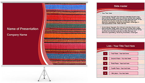 African peruvian style PowerPoint Template