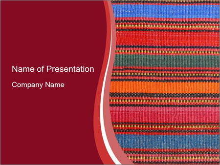 African peruvian style PowerPoint Templates