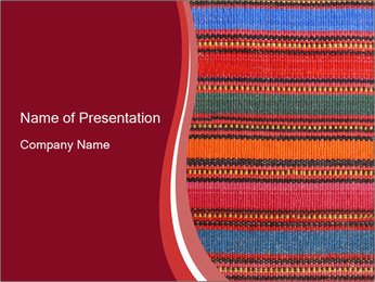 African peruvian style PowerPoint Templates - Slide 1