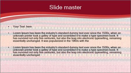 African peruvian style PowerPoint Template - Slide 2