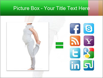 Pregnant woman PowerPoint Template - Slide 21