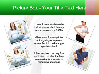 Pregnant woman PowerPoint Template - Slide 24
