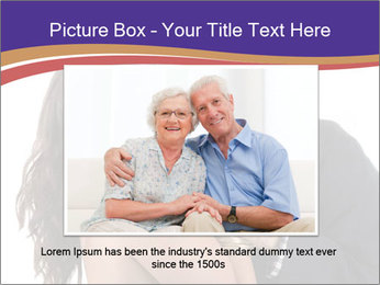 Rich elderly man PowerPoint Templates - Slide 16