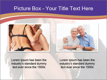 Rich elderly man PowerPoint Template - Slide 18