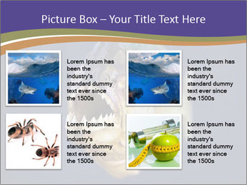 Piranha PowerPoint Template - Slide 14