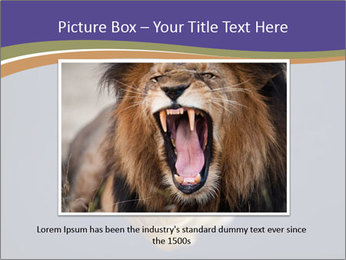 Piranha PowerPoint Template - Slide 15