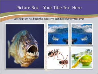 Piranha PowerPoint Template - Slide 19