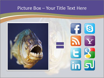 Piranha PowerPoint Template - Slide 21