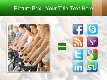 Man Cycling PowerPoint Template - Slide 21