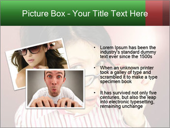 Nerdy office woman PowerPoint Template - Slide 20