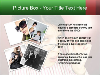 Nerdy office woman PowerPoint Template - Slide 23