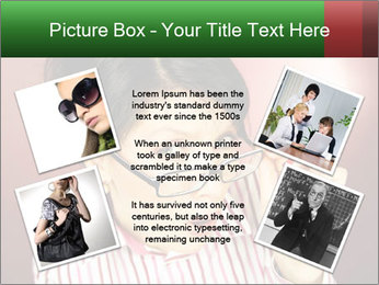 Nerdy office woman PowerPoint Templates - Slide 24