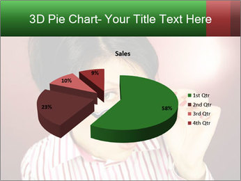 Nerdy office woman PowerPoint Templates - Slide 35
