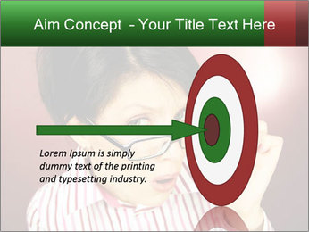 Nerdy office woman PowerPoint Templates - Slide 83