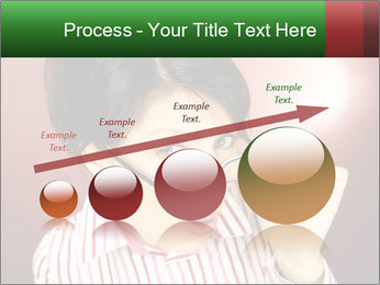 Nerdy office woman PowerPoint Templates - Slide 87