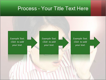 Nerdy office woman PowerPoint Template - Slide 88
