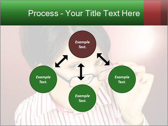 Nerdy office woman PowerPoint Templates - Slide 91