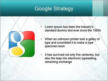 Corridor of glass PowerPoint Templates - Slide 10