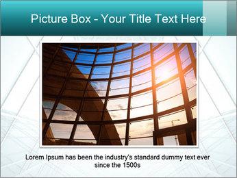 Corridor of glass PowerPoint Templates - Slide 15