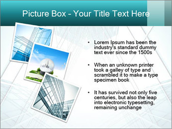 Corridor of glass PowerPoint Template - Slide 17