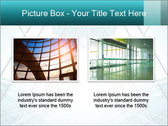 Corridor of glass PowerPoint Template - Slide 18