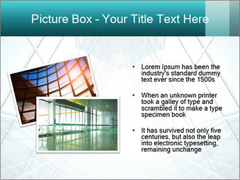Corridor of glass PowerPoint Template - Slide 20