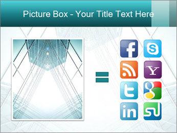 Corridor of glass PowerPoint Templates - Slide 21