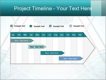 Corridor of glass PowerPoint Templates - Slide 25