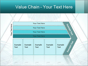 Corridor of glass PowerPoint Template - Slide 27