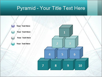 Corridor of glass PowerPoint Templates - Slide 31