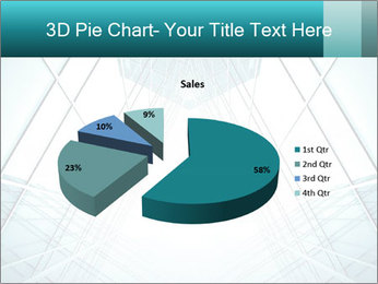 Corridor of glass PowerPoint Template - Slide 35