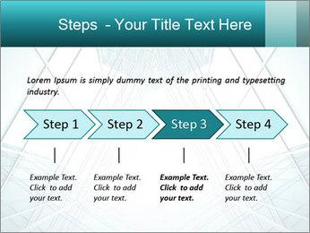 Corridor of glass PowerPoint Templates - Slide 4